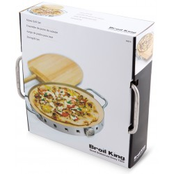 Broil King Pizzastein-Set...