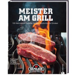 """Napoleon Grillbuch """"Meister..."""